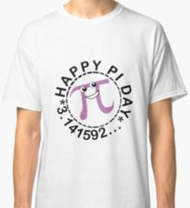 Cute happy pi day geek funny nerd Classic T-Shirt