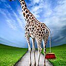 Giraffe by Simon Siwak