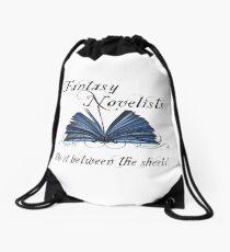 Fantasy Novelists Do It Between The Sheets! Drawstring Bag