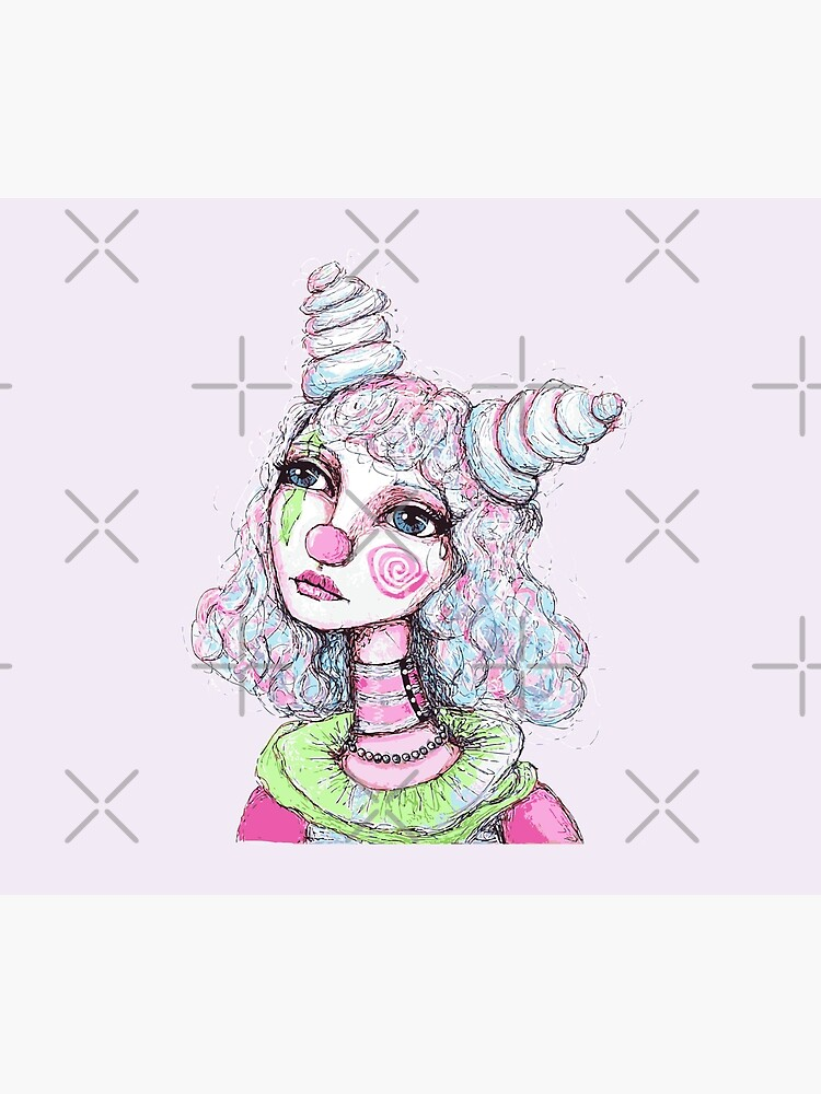 Sad Clown Girl by LittleMissTyne
