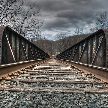 Railroad Tracks II by MattHutzell