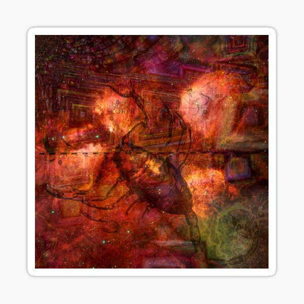 When The Stars Are Right - The Cat's Paw Nebula in Scorpius Sticker