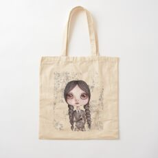 My Wednesday Cotton Tote Bag