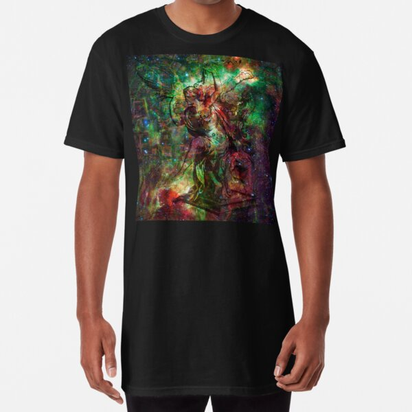 When The Stars Are Right - The Heart and Soul Nebulae in Cassiopeia Long T-Shirt