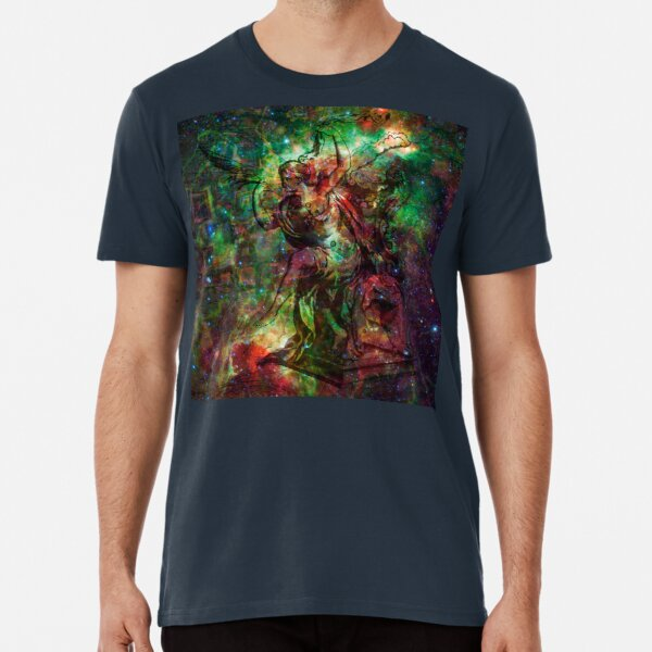 When The Stars Are Right - The Heart and Soul Nebulae in Cassiopeia Premium T-Shirt