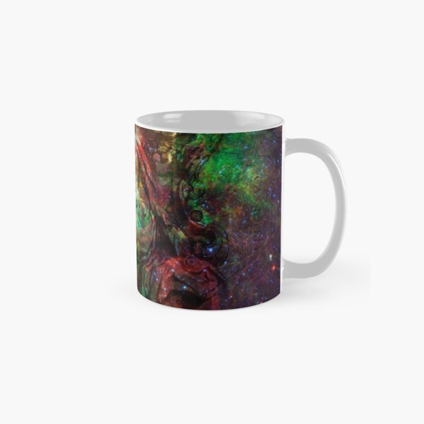 When The Stars Are Right - The Heart and Soul Nebulae in Cassiopeia Classic Mug