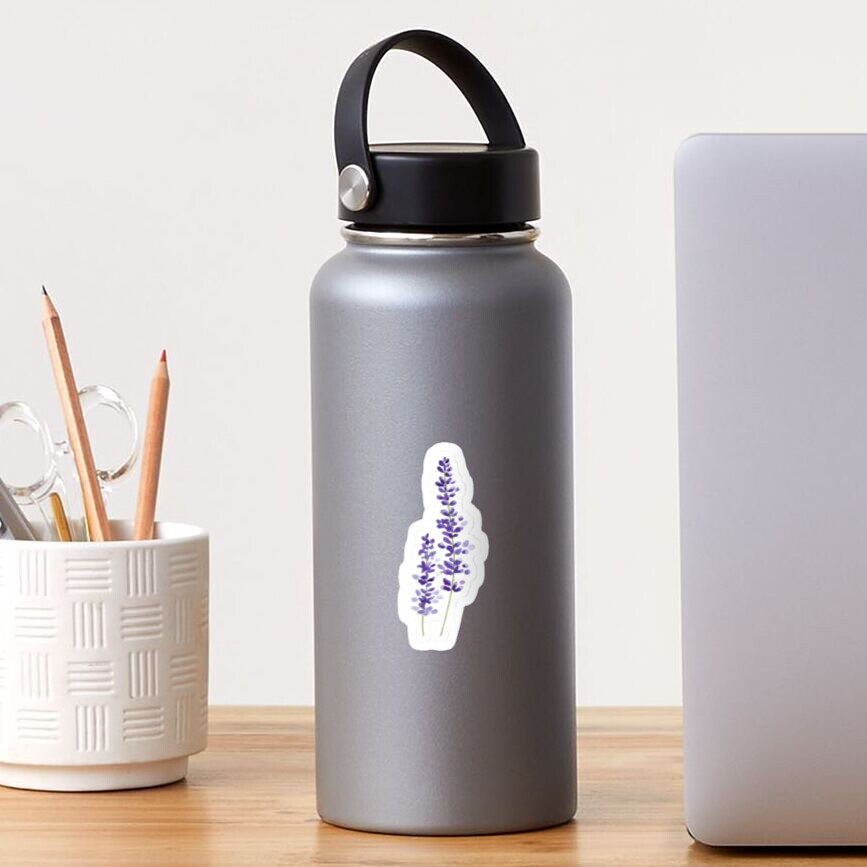 Lavender watercolor Sticker