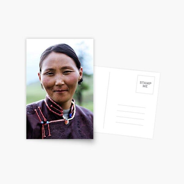 Smile of the Plains Postcard