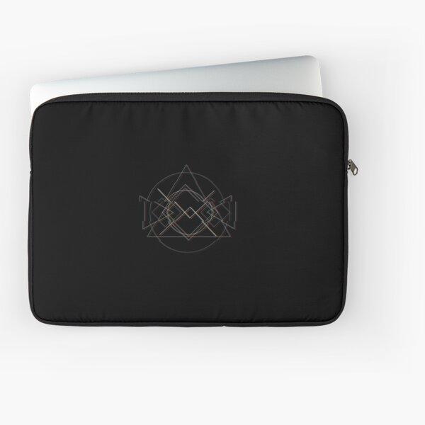 Glitch Triangle Laptop Sleeve
