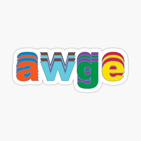 AWGE x GOLF Collaboration Sticker