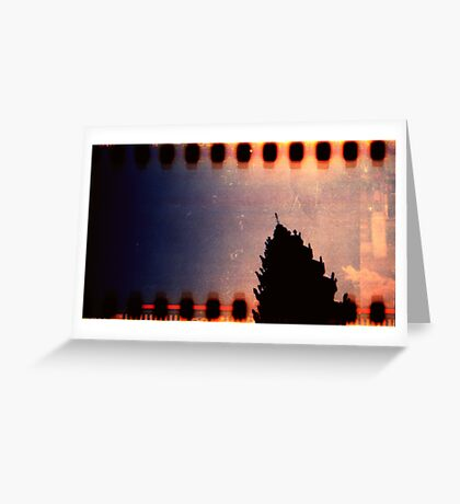 monument, kampong chnang, cambodia Greeting Card