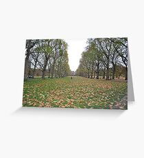 Buckingham Palace lawns Greeting Card