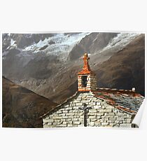 chapel in the mountains Poster
