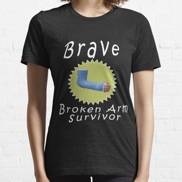 Cool Brave Broken Arm Survivor Gift para niños Camiseta esencial