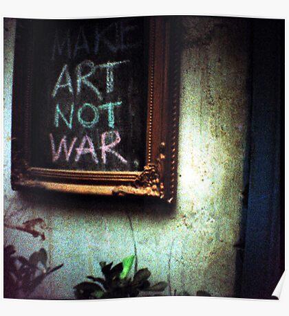 art not war, siem reap, cambodia Poster