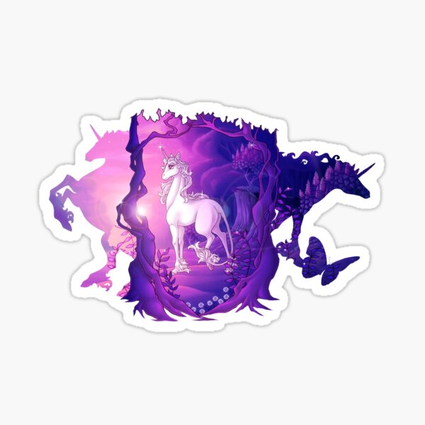 La dernière licorne Sticker