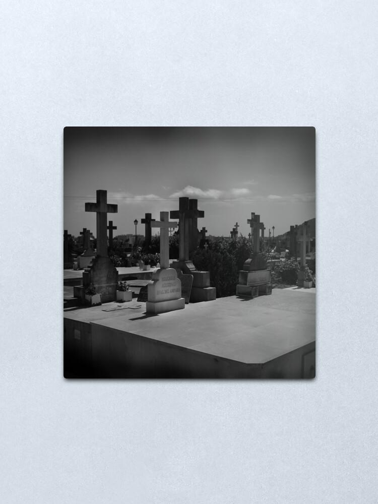 Alternate view of Spanish Graveyard Metal Print