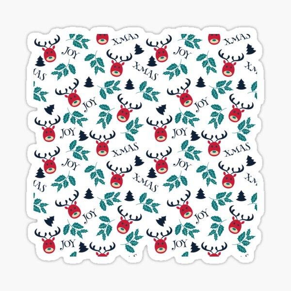 Xmas pattern  Sticker
