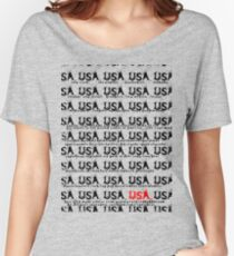 usa california tshirt by rogers bros Women's Relaxed Fit T-Shirt