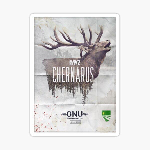 Artwork Chernarus ONU Community Sticker