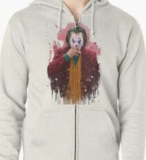 Joaquin Phoenix Joker Zipped Hoodie