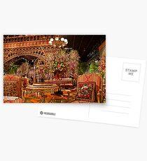 "Philadelphia Flower Show ""Springtime in Paris"". Postcards"