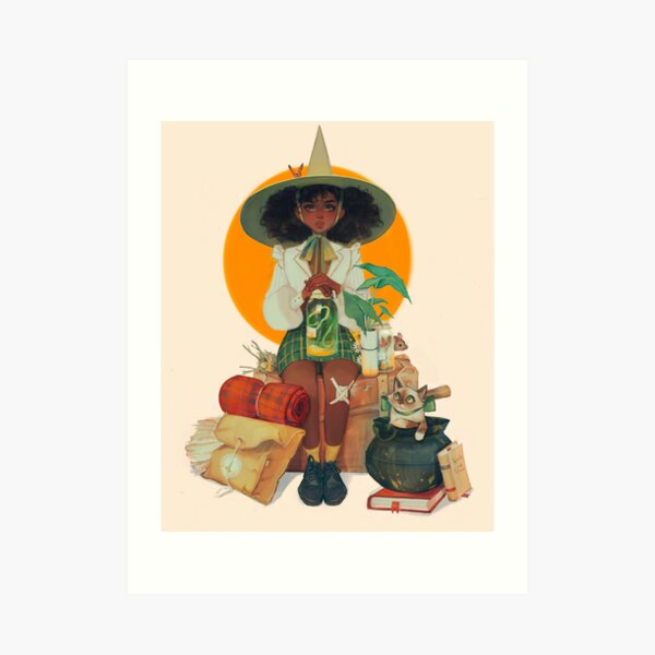 witch scout Art Print