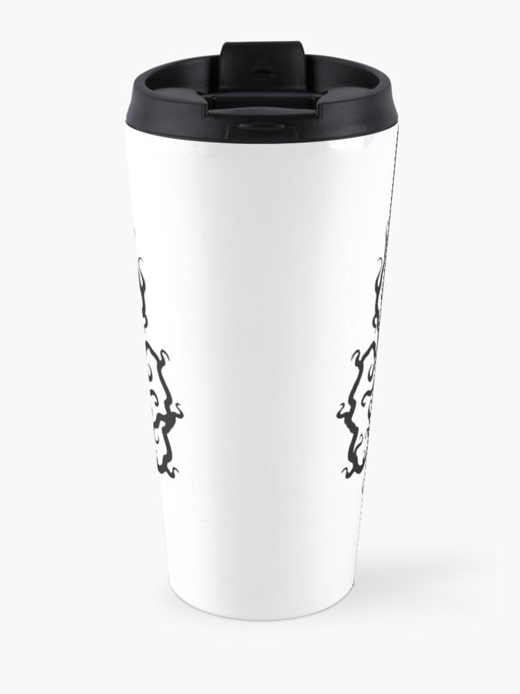 Alternate view of Death Metal Logo - Black Travel Mug