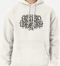 Death Metal Logo - Black Pullover Hoodie