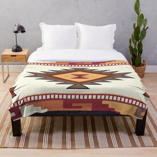 American Native Pattern No. 60 Throw Blanket