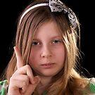 Little girl scolding the photographer :-) by RandiScott