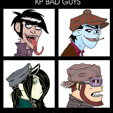 KP Bad Guys No. 2 by The-Bundycoot