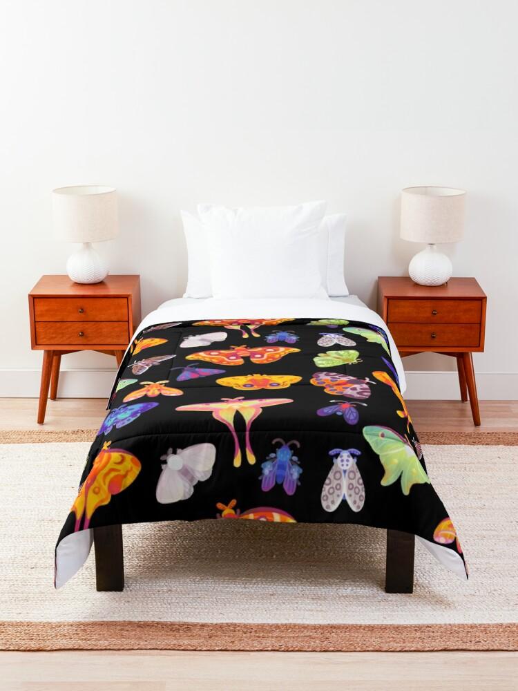 Alternate view of Moth Comforter