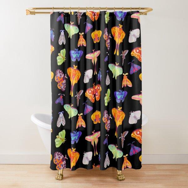 Moth Shower Curtain