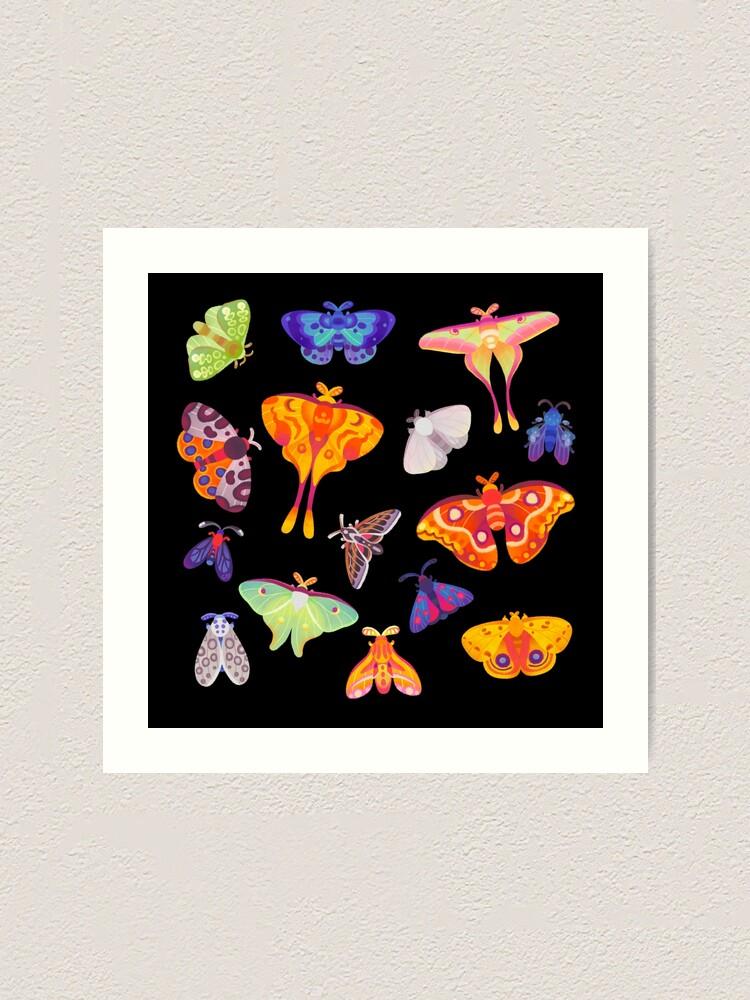 Alternate view of Moth Art Print