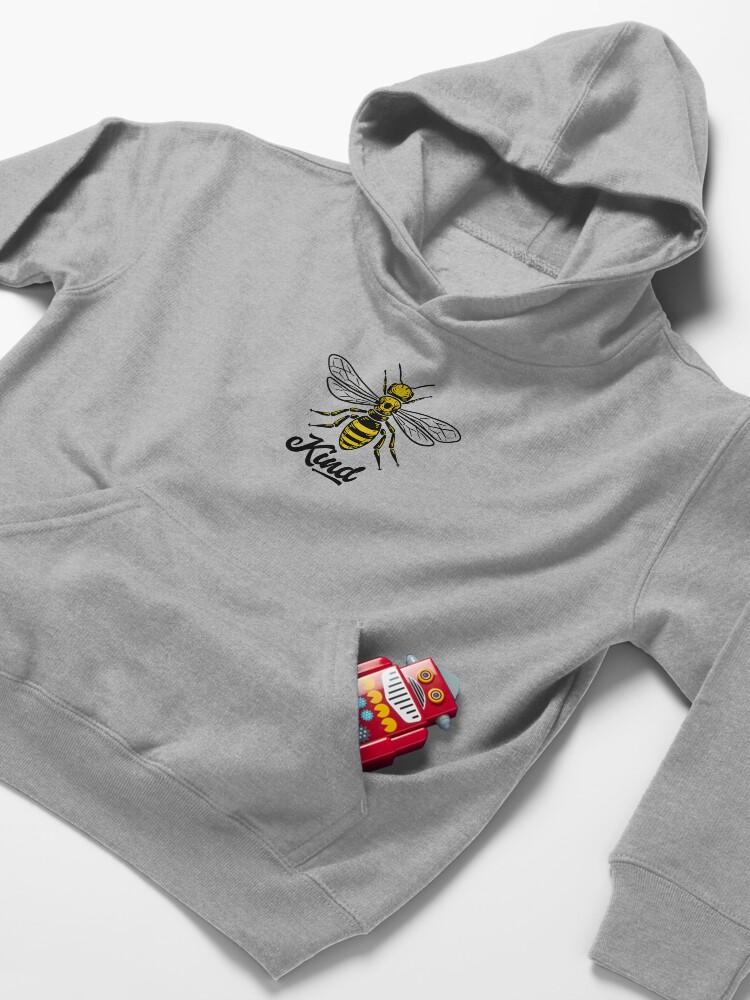 Alternate view of Be Kind - Bee kind Kids Pullover Hoodie