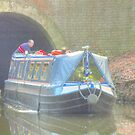 Exiting The Tunnel, Llangollen Canal by SimplyScene