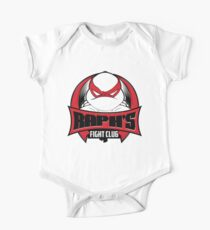 Raph's Fight Club Short Sleeve Baby One-Piece