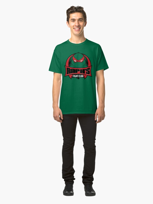 Alternate view of Raph's Fight Club Classic T-Shirt