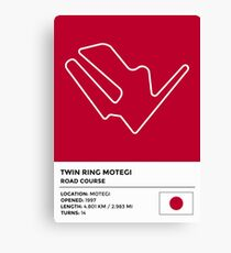 Twin Ring Motegi - v2 Canvas Print