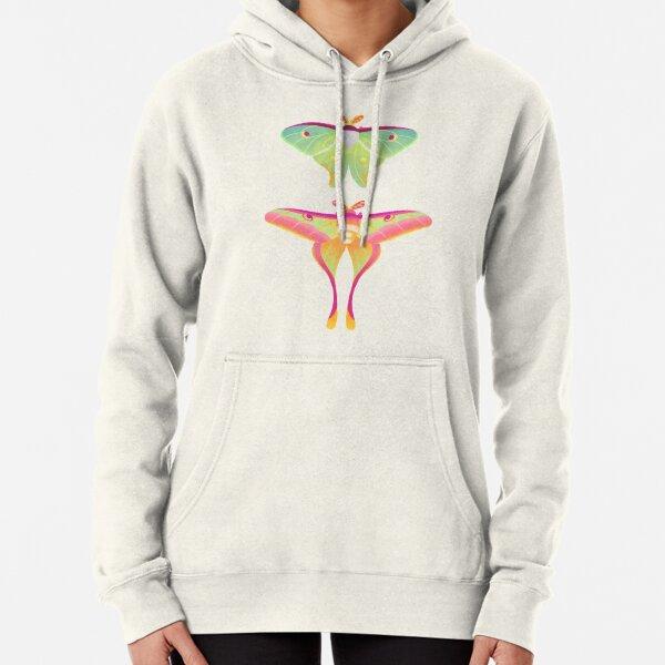 Moth - pastel Pullover Hoodie