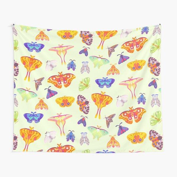 Moth - pastel Tapestry
