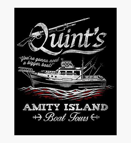 Quint's Boat Tours Photographic Print