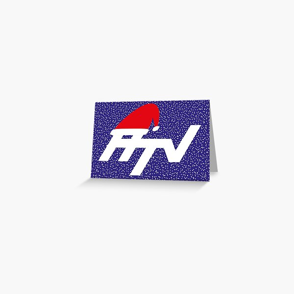 NDVH Christmas HTV Greeting Card