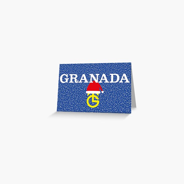 NDVH Christmas Granada Greeting Card