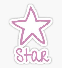 Be Yourself  -  Star Sticker