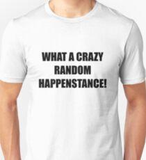 What a crazy random happenstance! Unisex T-Shirt