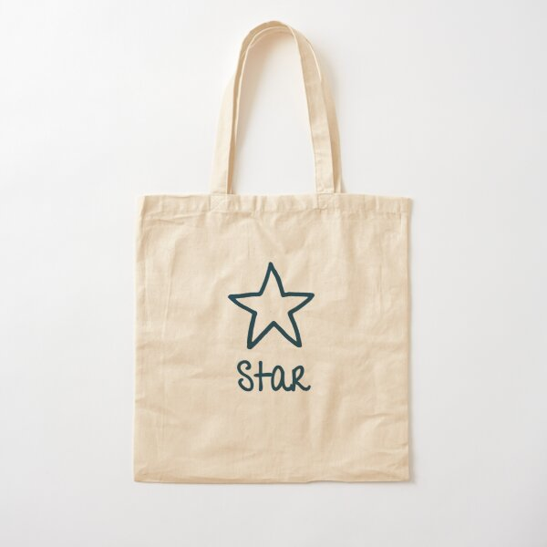 Be Yourself - Star Cotton Tote Bag