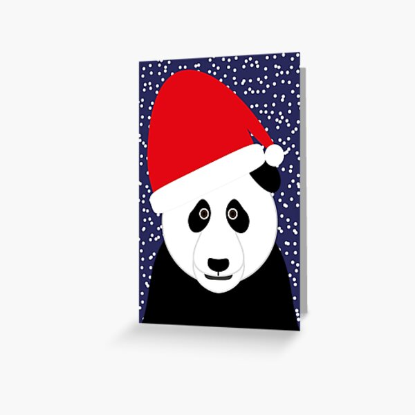 NDVH Christmas Panda Greeting Card