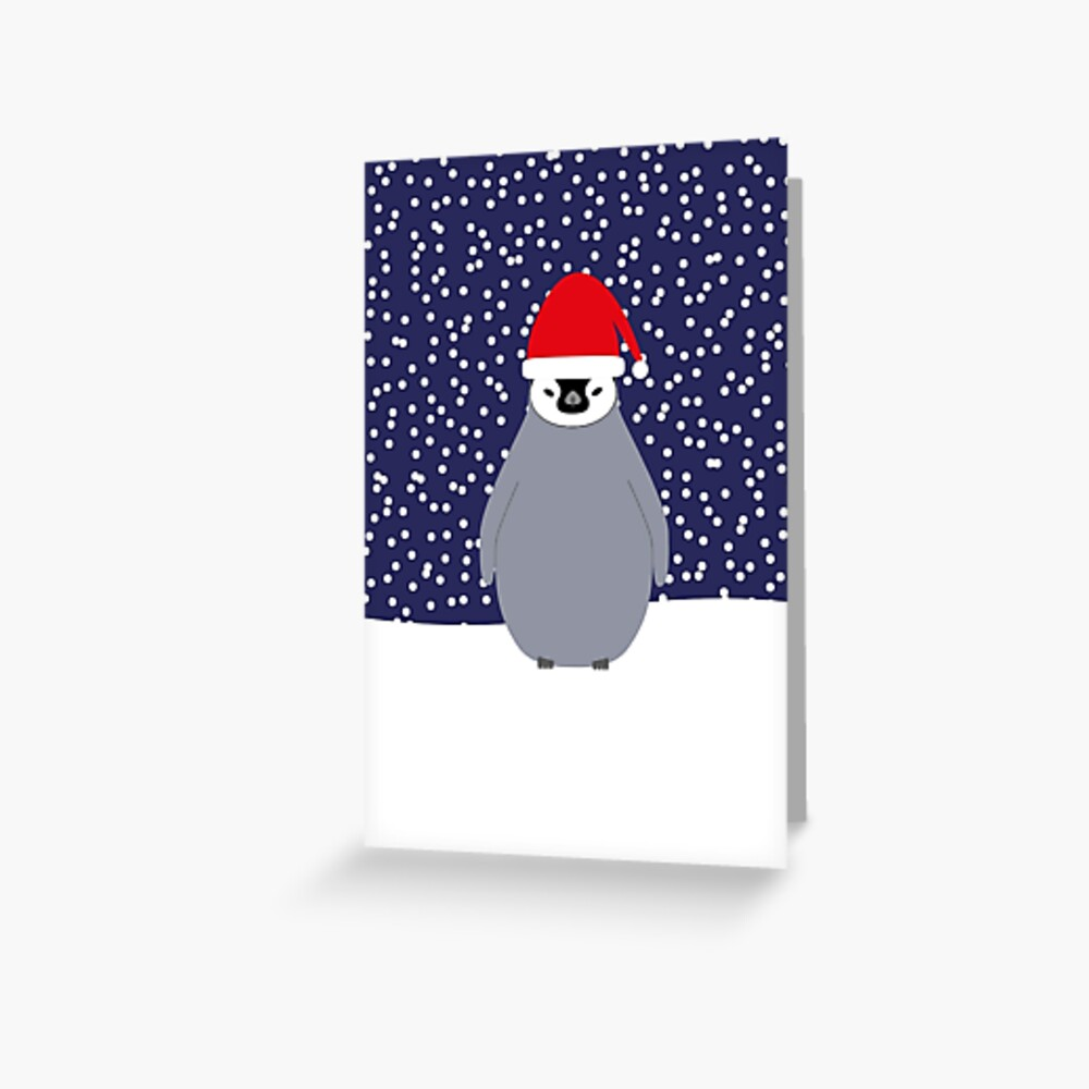 NDVH Christmas Baby Penguin Greeting Card